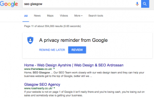 SEO Glasgow - how to get ranked